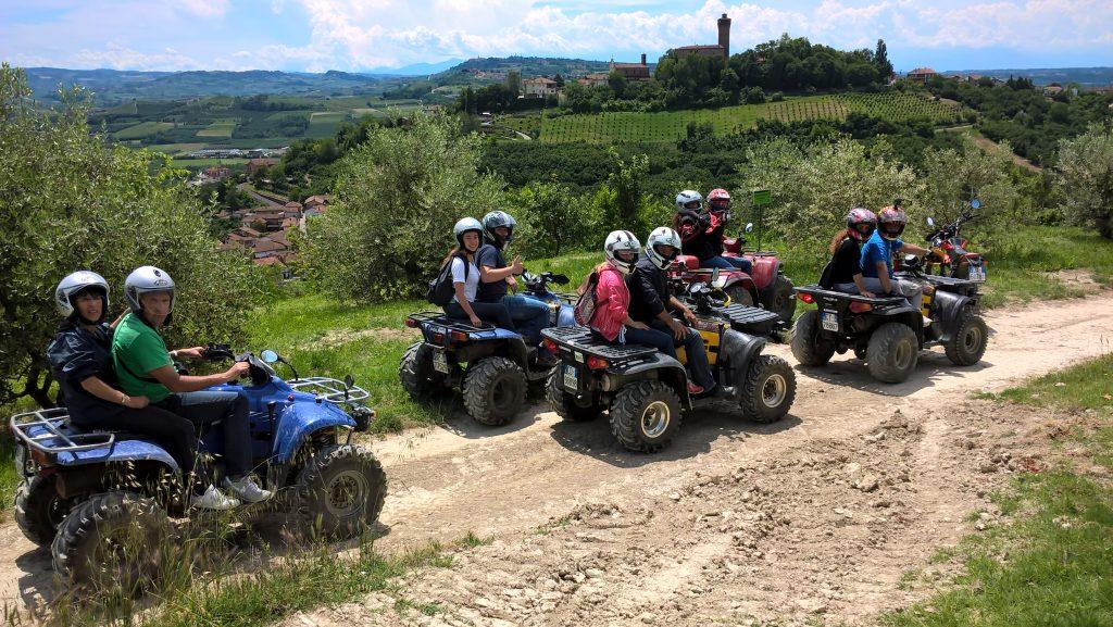 Tour in Quad Piemonte